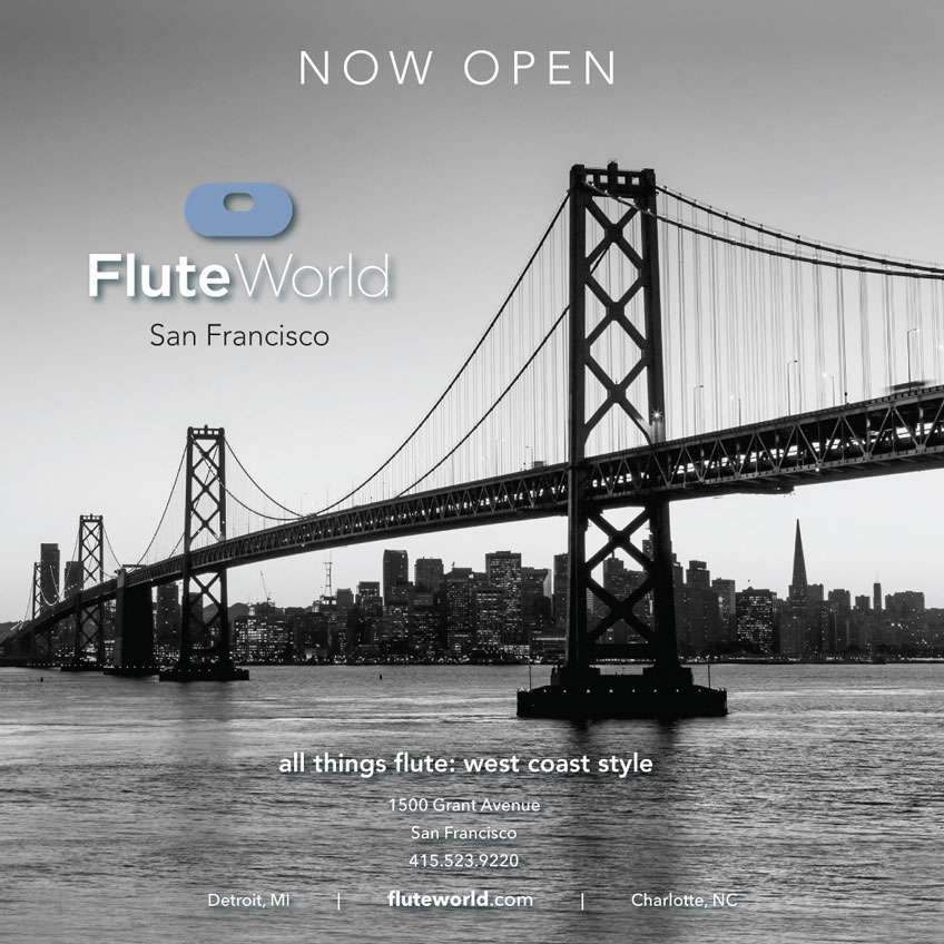 Flute World San Francisco Location Opening