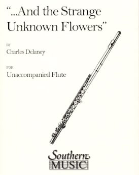...and the strange, unknown flowers.... - Music sheet
