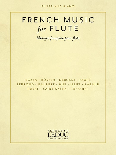 LEDUC French Music for Flute Cover