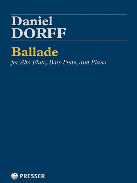 Ballade For Alto Flute, Bass Flute, And Piano - Flute World