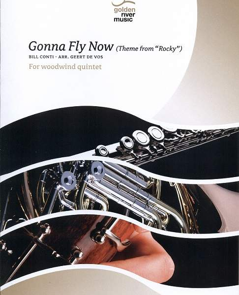 "Gonna Fly Now - Theme from ""Rocky"" for Woodwind Quintet - Flute Music Cover"